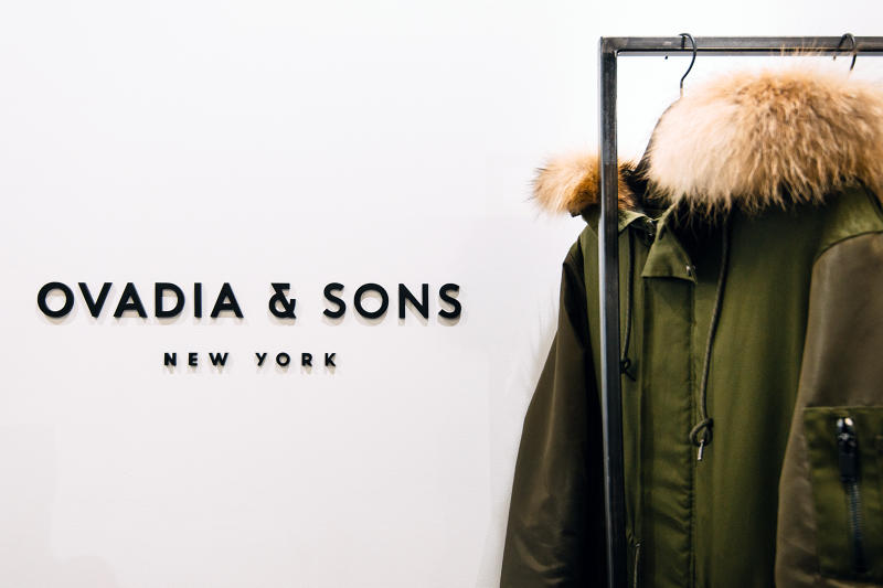OVADIA & SONS soho nyc pop up shop retail store fall 2016