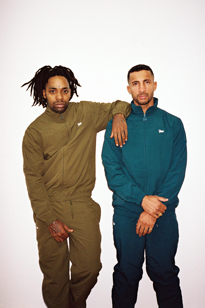 Patta Tracksuit Olive Green Teal 2016 Winter