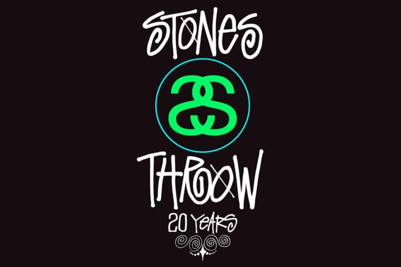 Stones Throw Stussy Mixtape 20th Anniversary Stones Throw Mixtape