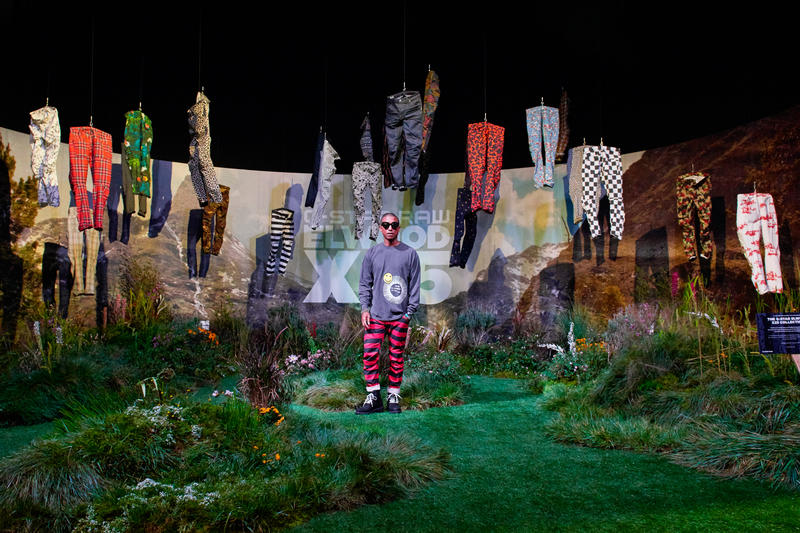 Pharrell Williams Presents G-Star RAW Elwood X25 Collection 2016 Head of Imagination ComplexCon Pants Jeans Denim
