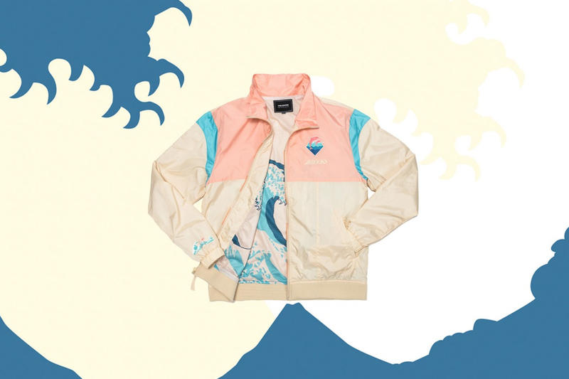 Pink Dolphin and Brooks Japanese Wave Art Collaboration