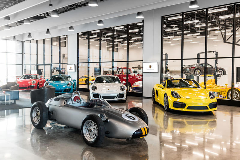 Porsche Experience Center Los Angeles Images