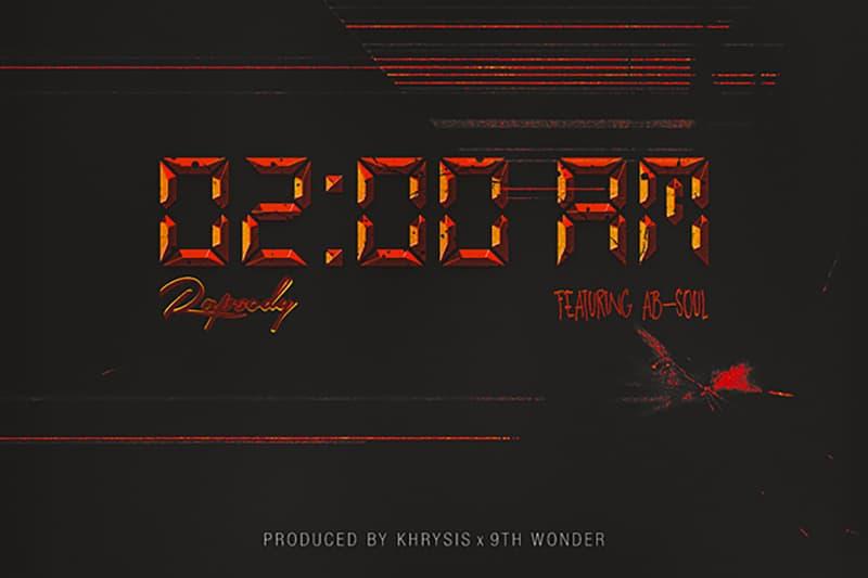 Rapsody Ab Soul 2AM Single Artwork