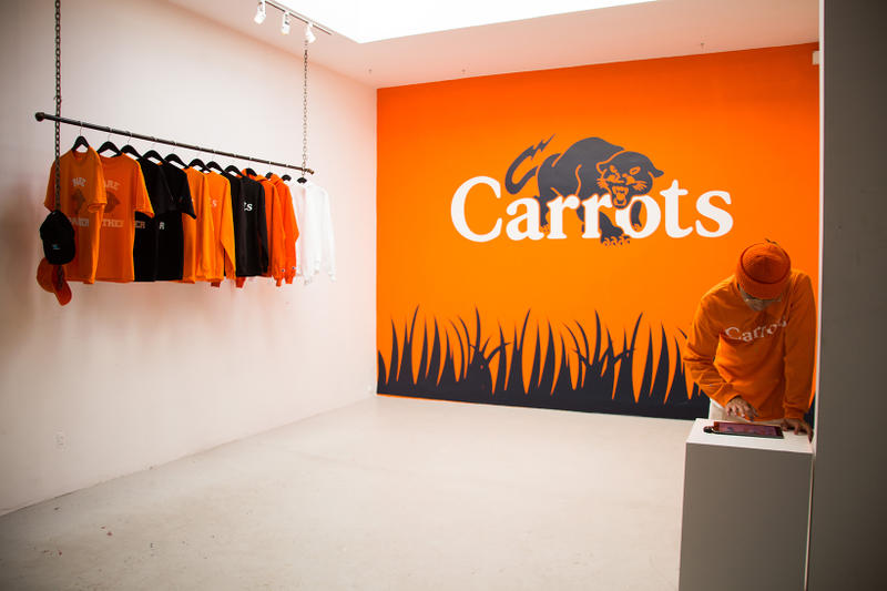Rare Panther and Carrots Exclusive Collection at 424 Fairfax