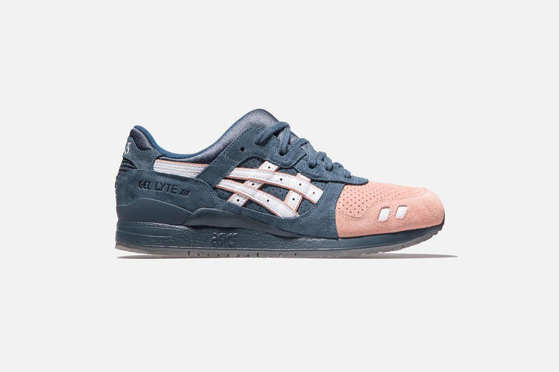 3a9d3da0 Ronnie Fieg Asics Collaboration Made in Japan Gel-Lyte (R) III Salmon Toe