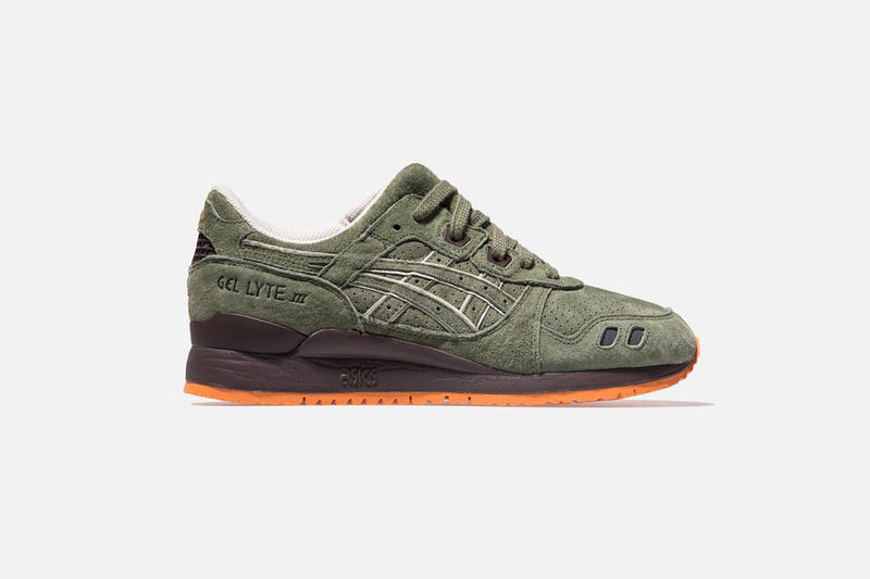Ronnie Fieg Asics Collaboration Made in Japan Gel-Lyte (R) III Salmon Toe 2.0 Militia Initiative