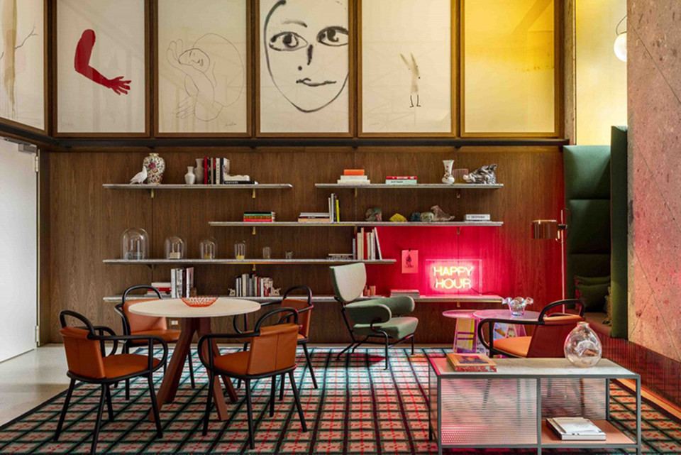 Take a Look at Room Mate Hotel Milan's Exquisite Interior Design