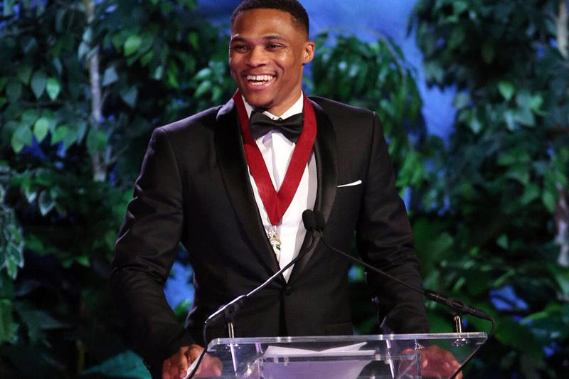 Russell Westbrook Inducted into Oklahoma Hall of Fame Michael Jordan Oklahoma City Thunder