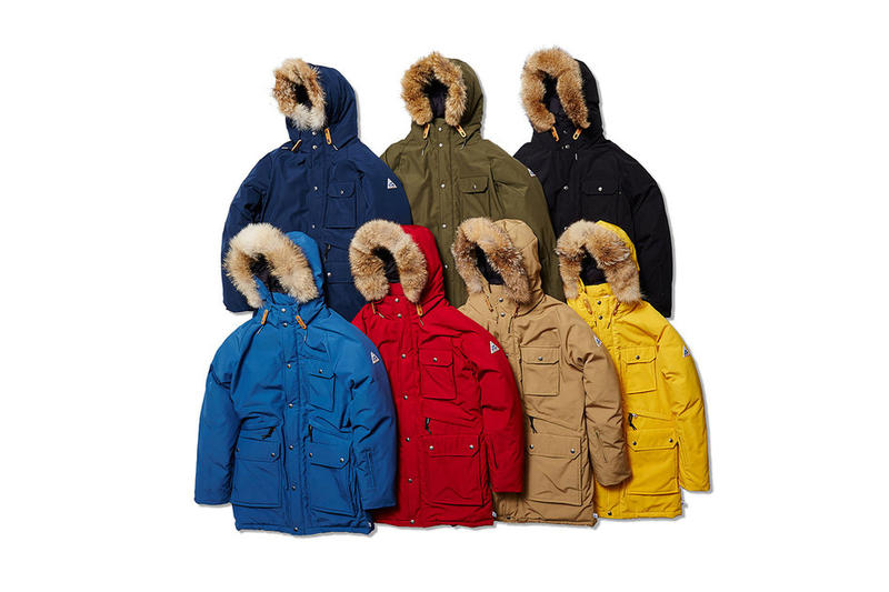 SOPHNET Cape Heights Brightwood Parka