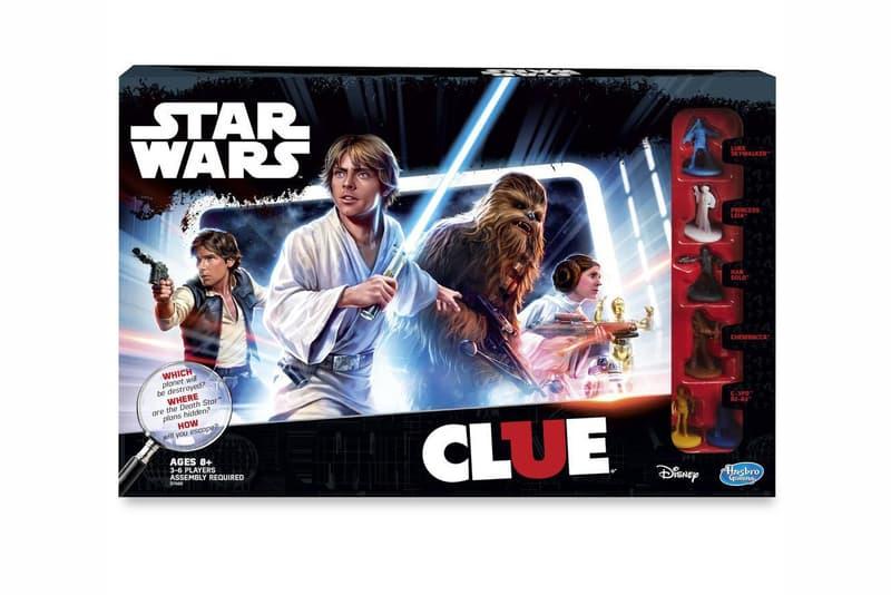 'Star Wars' Sees its Own Clue Edition  Game Hasbro Luke Skywalker Jedi Princess Leia Han Solo