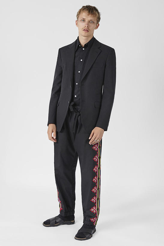 Stella McCartney First Full Menswear Collection Lookbook Fashion
