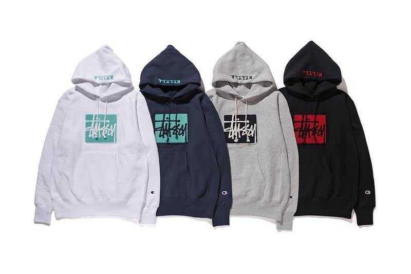 Stussy Champion 2016 Fall Winter Reverse Weave Sweatshirts