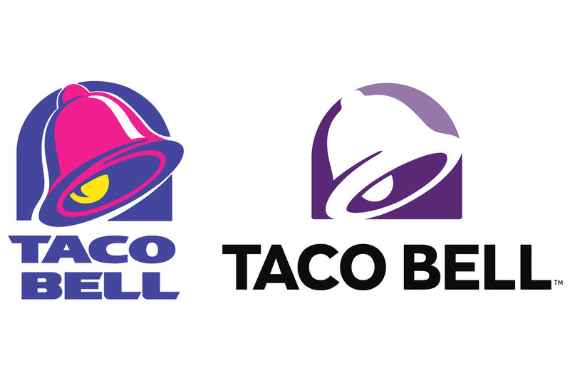Taco Bell New Logo Hate