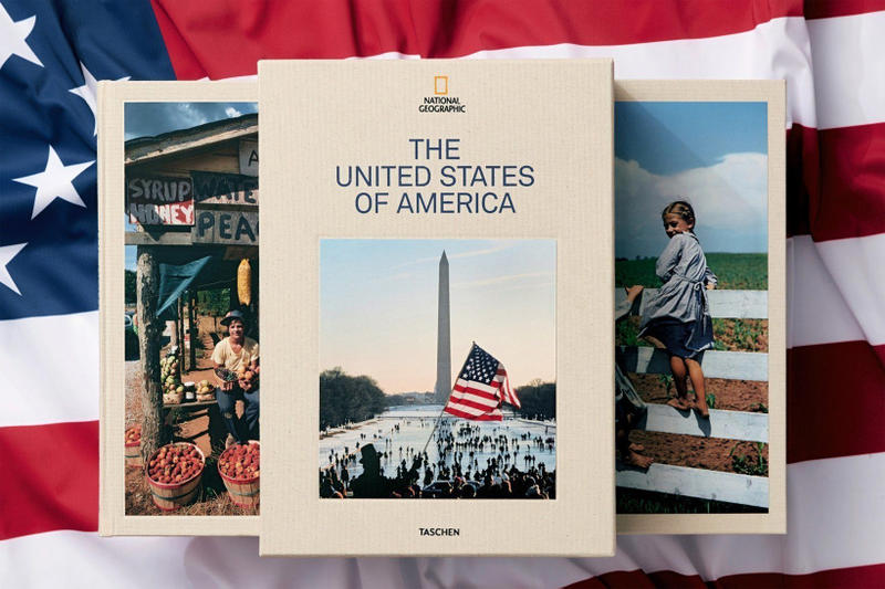 Taschen and National Geographic The United States of America