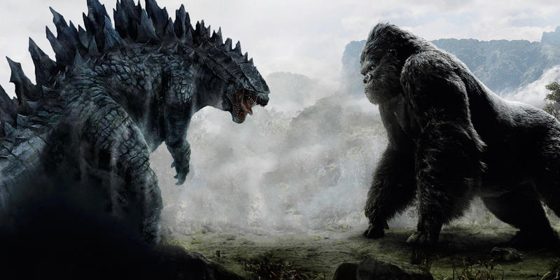 10 Greatest Crossover Battles in Cinematic History King Kong Skull Island Godzilla Marvel DC Universe Justice League Avengers