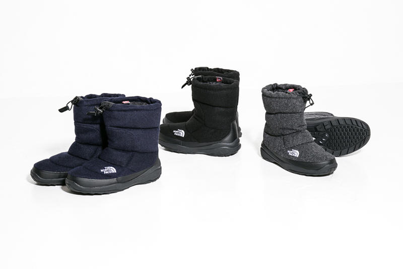 The North Face New Nuptse Booties Collection 2016 Winter Boots Fall Snow TNF
