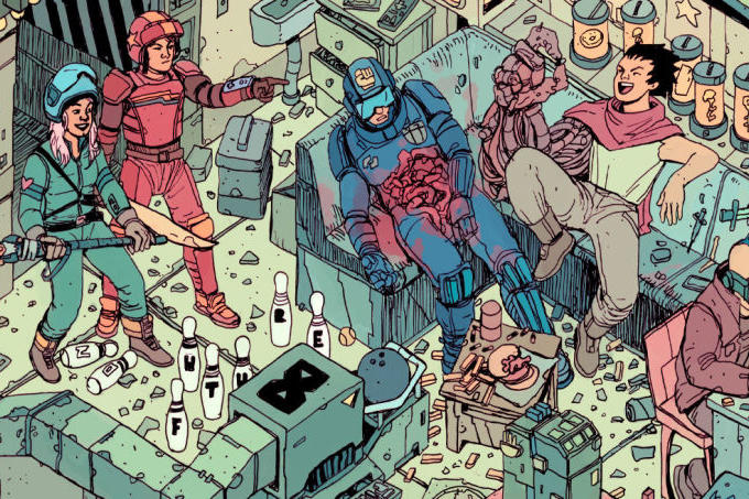 The Raid Sci-Fi Poster Josan Gonzalez and Laurie Greasley