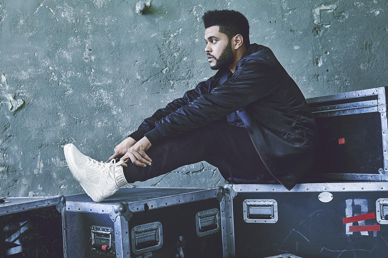 efede7d8d1d The Weeknd   PUMA Unveil the IGNITE evoKNIT in Olive and White ...