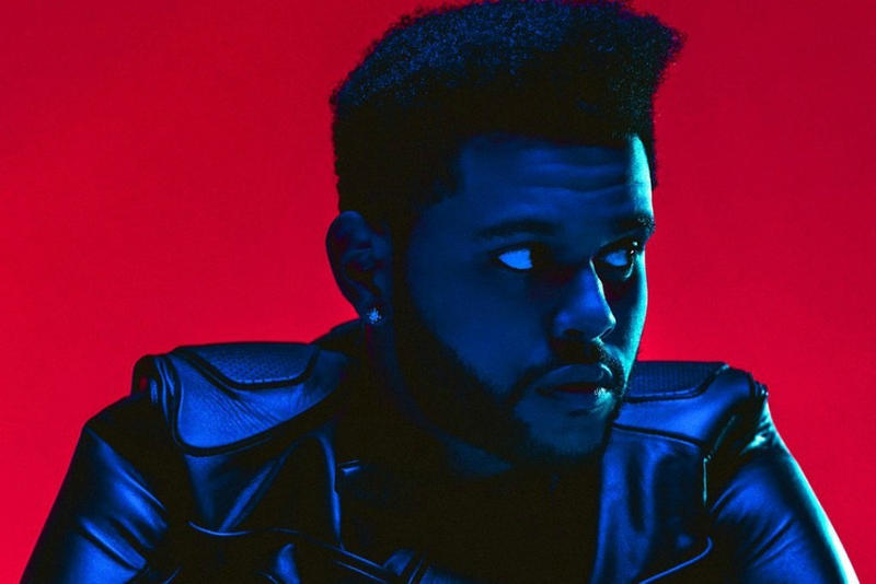 The Weeknd Reveals Tracklist for Upcoming 'Starboy' Album Music Canada Bella Hadid Daft Punk Lana Del Rey Kendrick Lamar Future
