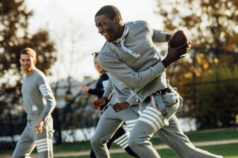 Thom Browne Thanksgiving Football NYC