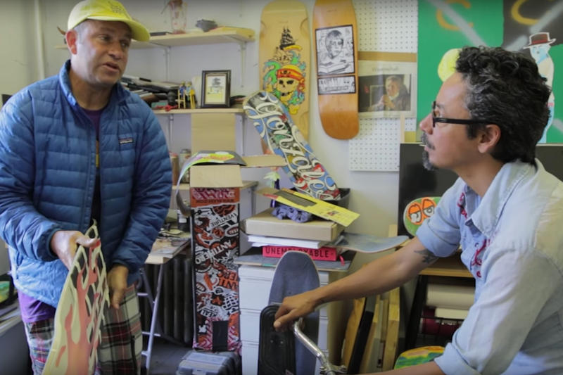 "Mark Gonzales and Tommy Guerrero Get Together for an Episode Of ""BS and TG"""