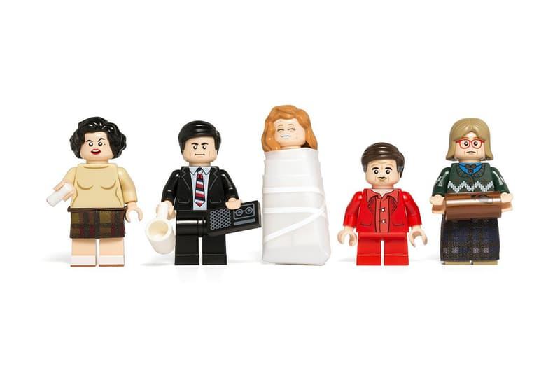 Twin Peaks LEGO Minifigures Citizen Brick