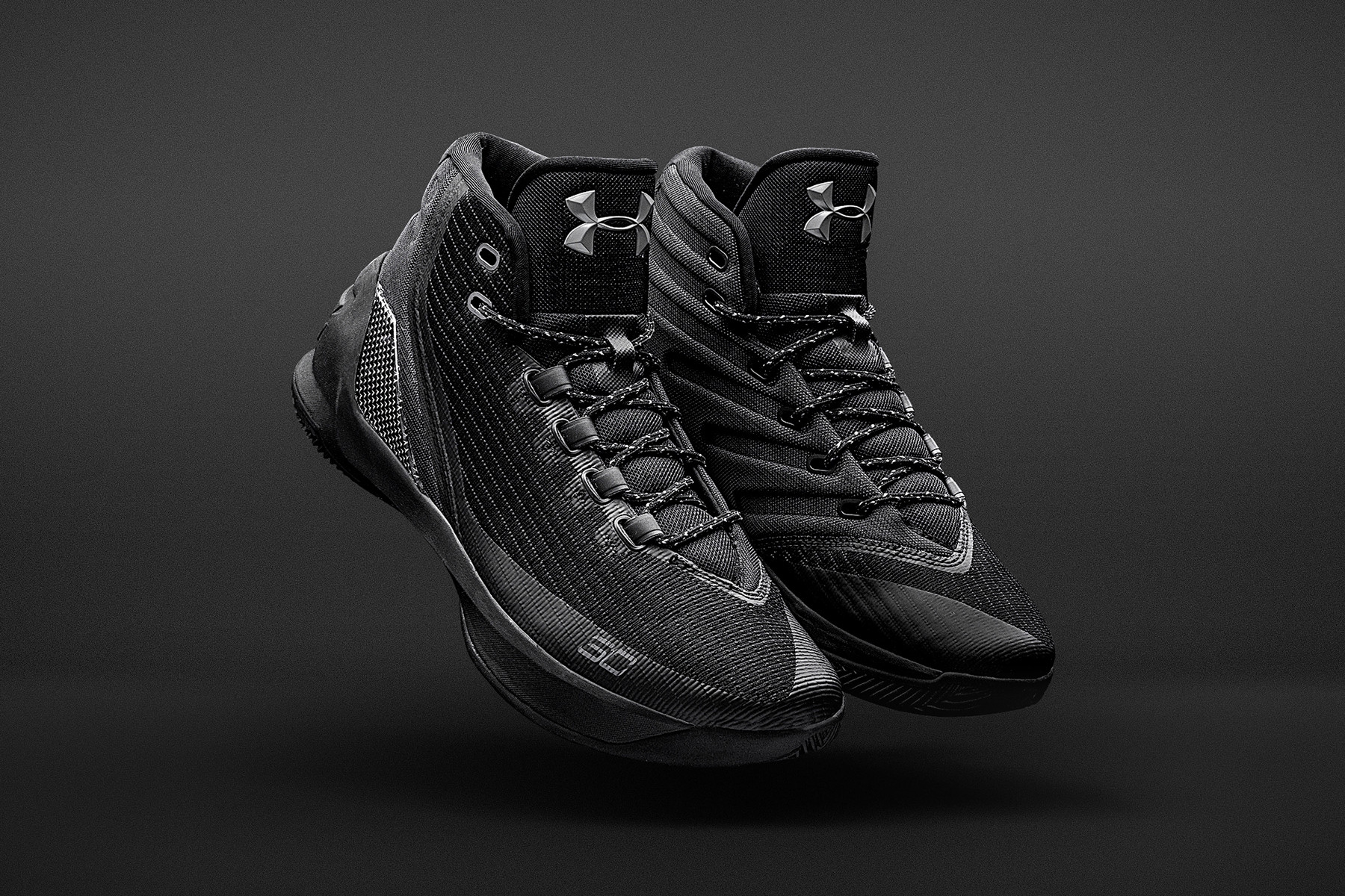 Under Armour Curry 3 Trifecta Black Is