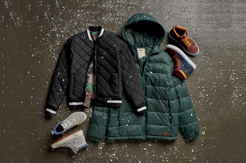 fc5098500e Vans Releases the Second Delivery for Its 2016 All Weather MTE Collection.  New outerwear and footwear additions to brave the cold elements.