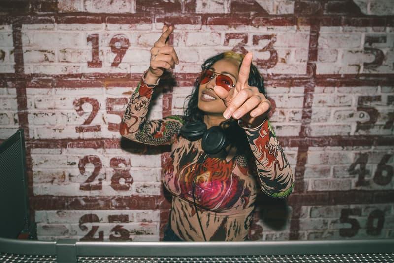 Venus X gnarianna DJ HYPEBEAST Chivas Regal Ultis Party