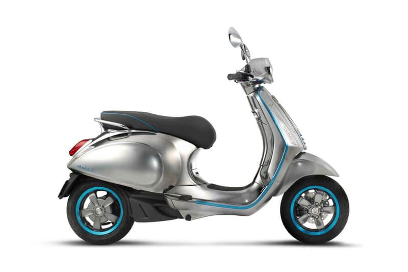 Vespa Elettrica Electric Scooter Concept