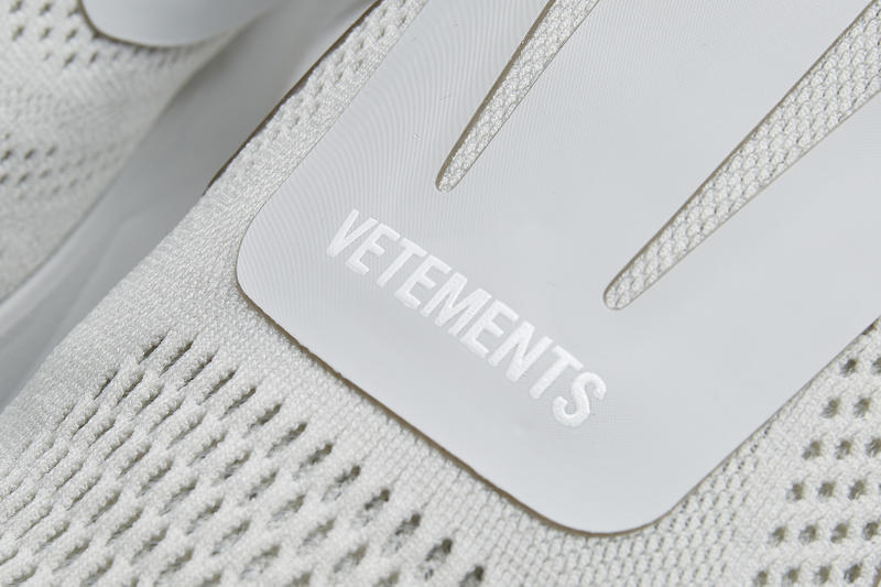 Vetements Reebok Pump Supreme Grey Dover Street Market Exclusive