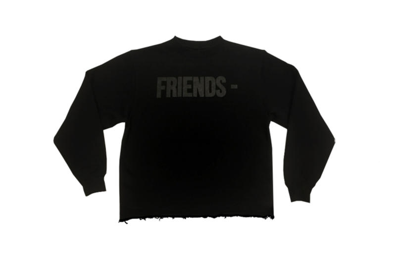 VLONE Blackout Friends T-shirt Sweater