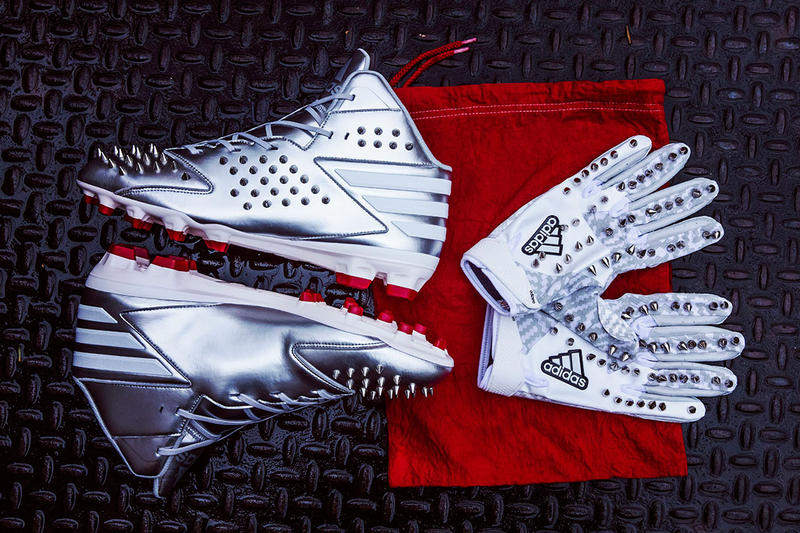 Von Miller Custom adidas Player Edition Cleats Sunday Night Football NFL Denver Broncos