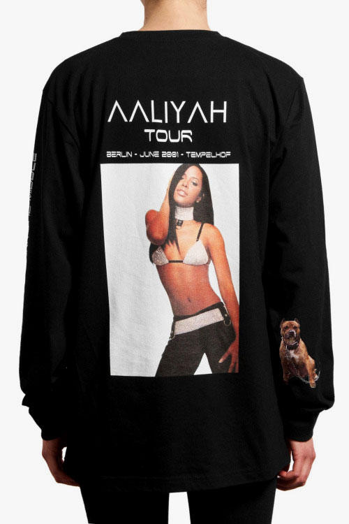 761469be '032c' Drops a Special Tribute T-Shirt for the Princess of R&B, Aaliyah