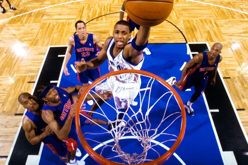tracy mcgrady dunk pistons richard rip hamilton chauncey billups tayshawn prince orlando magic slam nba basketball