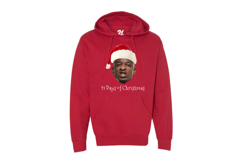 21 Savage Christmas.Celebrate Christmas With 21 Savage Hypebeast