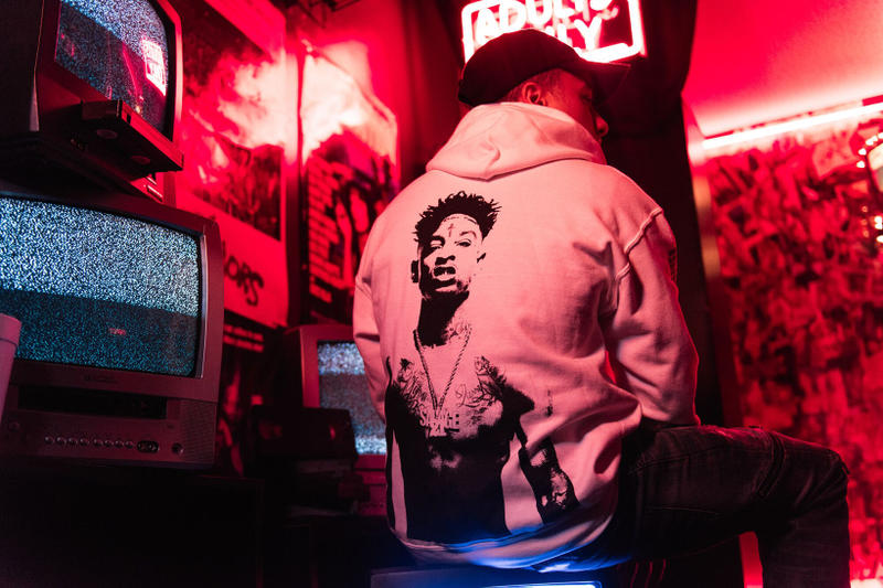 21 Savage Young and Reckless Y and R PacSun