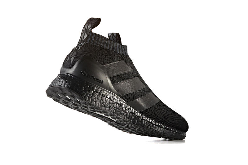 adidas ACE16+ Ultra Boost in Triple Black