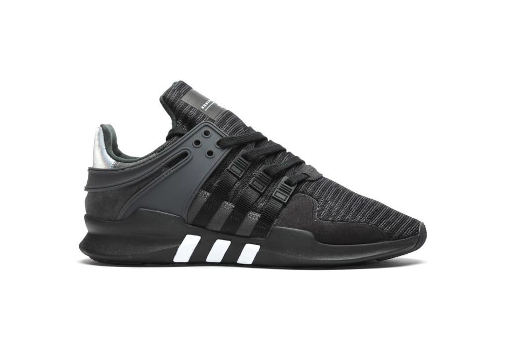 adidas eqt black shoes