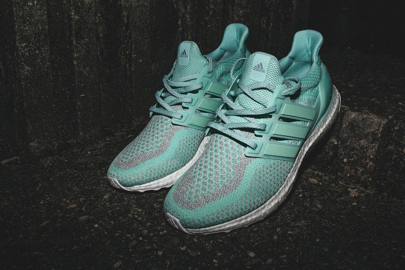 """adidas' miUltraBOOST NYC-Exclusive """"Stature of Liberty"""" Edition Three Stripes BOOST Technology New York City Flagship Store"""