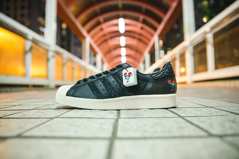 adidas Originals CNY Pack Lunar New Year Year of the Rooster Stan Smith Superstar ZX700