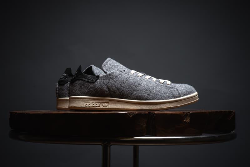 adidas Originals Stan Smith Grey Wool
