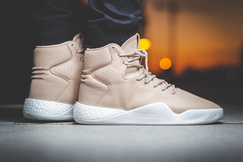 adidas Originals Tubular Instinct BOOST Leather Tan Black