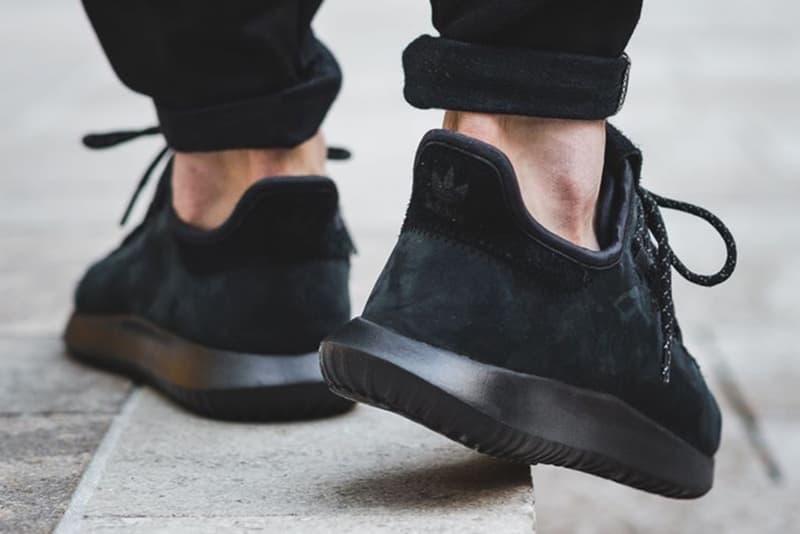 adidas Originals Tubular Shadow All-Black Suede