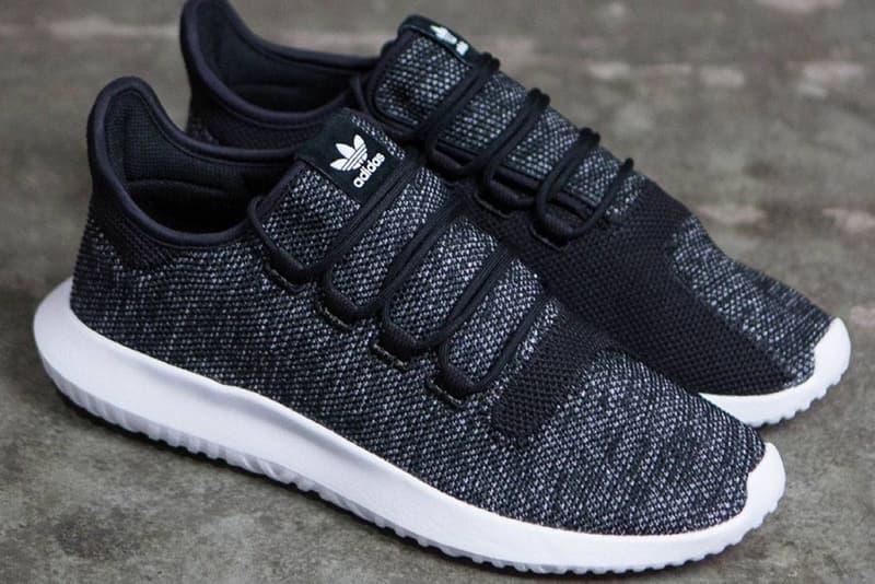 on sale 755b8 9e1cb adidas Tubular Shadow Knit Drops in Black | HYPEBEAST