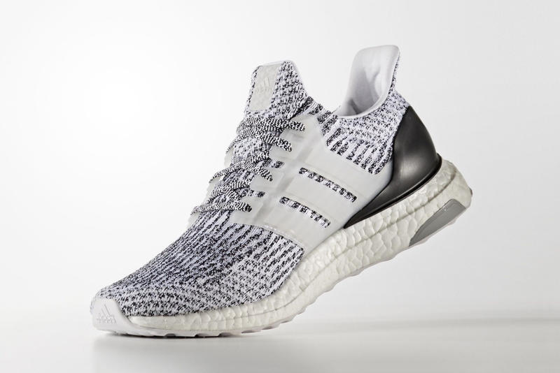 "adidas UltraBOOST 3.0 ""Oreo"" Colorway Three Stripes Germany Cookies BOOST midsole"