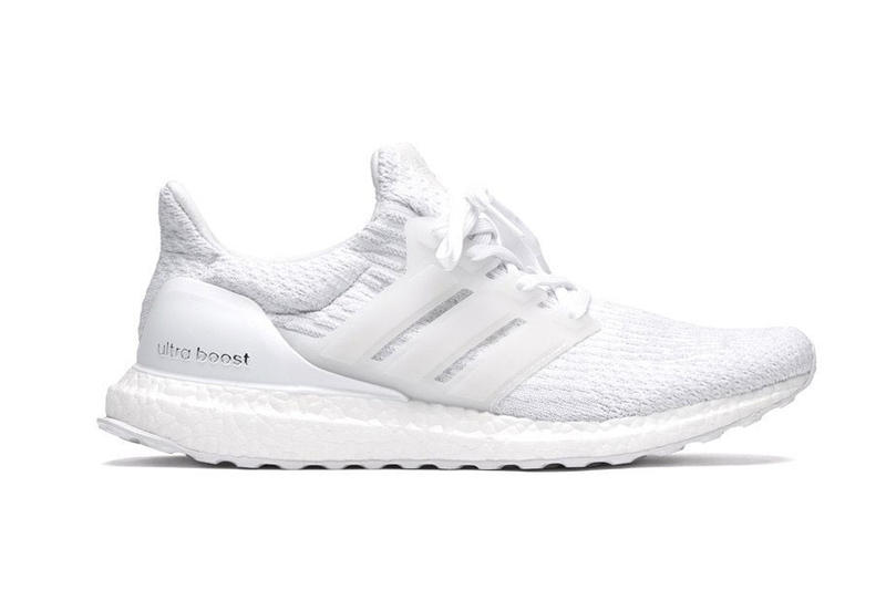 "adidas UltraBOOST 3.0 ""Triple White"" Restocked Three Stripes Germany"