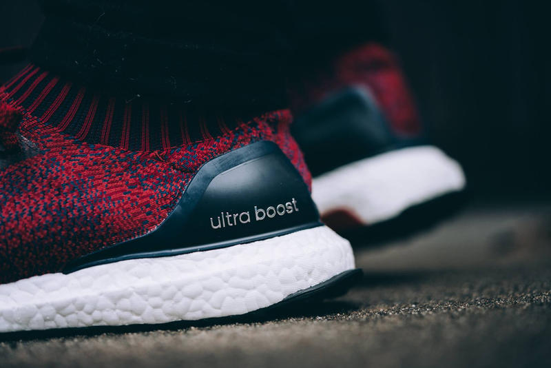 "adidas UltraBOOST Uncaged ""Mystery Red"" A Closer Look Three Stripes Germany"