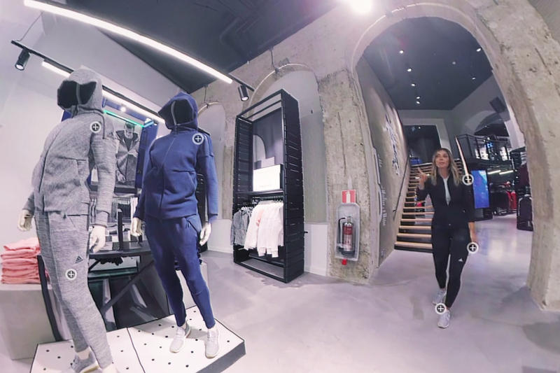 adidas 360 Shopping Experience