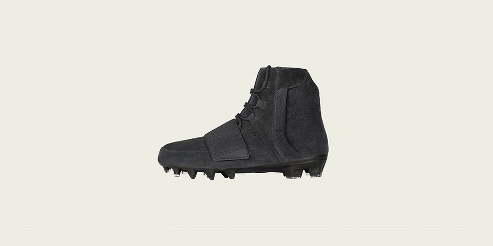8027a9f48a8 adidas Has Officially Revealed a Black Colorway of Its YEEZY 750 Cleat